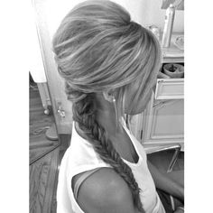 Hair ❤ liked on Polyvore featuring beauty products, haircare, hair, hairstyles, blonde hair, hair style and cabelo