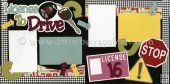 License To Drive (Girl) Scrapbook Page Kit