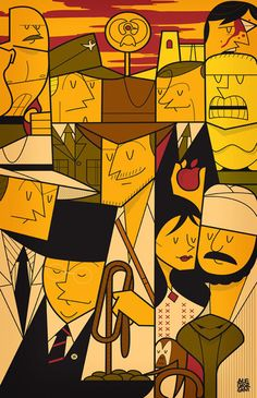 Raiders of the Lost Ark by Ale Giorgini, via Behance