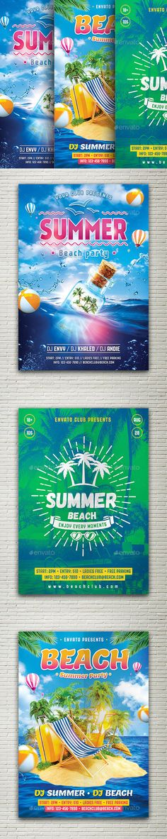 Summer Bundle Flyers by Peachline