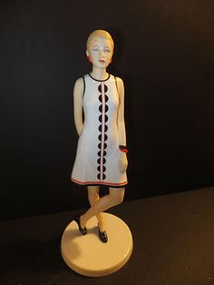 Royal Doulton Fashion Through The Decades 1960's Penny HN5592 Brand New   eBay