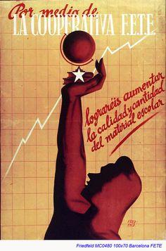 Spain - 1936. - GC - poster - @ Fried-Feld