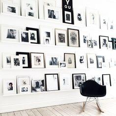 gallery wall goodness by Annika Von Holdt