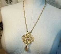 Vintage Abstract Mod Necklace by thedepo on Etsy,