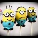 VIDEO: Despicable Me 2 Cake pops! - Make Minions Cakepops - A Cupcake Addiction How To Tutorial