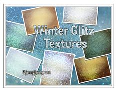 Free Winter Glitz Textures