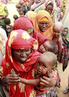 Somalian mothers and babies