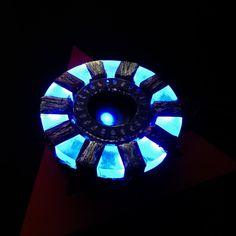 Iron Man Arc Reactor by ZlaKalamarnica.deviantart.com on @DeviantArt marvel, cosplay, diode, glow,  glowing , ironman, marvelcomics, resin, arcreactor