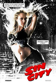 "Jessica Alba, as Nancy in "" Sin City"""