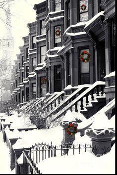 Snowy Wintertime