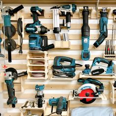 Get our holders for your French Cleat tool wall!You are in the right place about hidden Tool Storage Here we offer you the most beautiful pictures about the Tool Storage workbench you are looking for. When you examine the Get our holders for your F