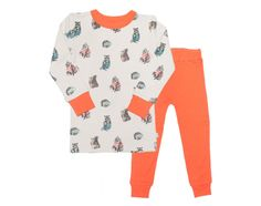 Your toddler will love this print. It's soo cute! WOODLAND LONG PAJAMAS - FINN & EMMA