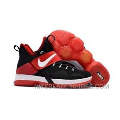 3f6087b517d8 Nike LeBron 14 SBR Navy Blue White Red Discount