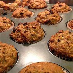 Healthy Banana Chocolate Chip Oat Muffins Allrecipes.com