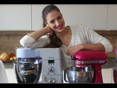 In meinem Video stelle ich meine drei Küchenmaschinen Kitchenaid, Thermomix, Kenwood vor. Ich habe auch jahrelang mit einer Bosch MUM an der Hochschule und p...