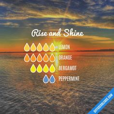 Rise and Shine Essential Oil diffuser blend