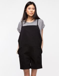 Short Strap Overall