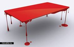 This would be Dexter's table