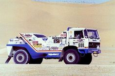paris to dakar truck