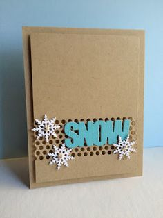 I'm in Haven: LIM 143..Snowflakes with Twine