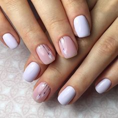 Make an original manicure for Valentine's Day - My Nails Elegant Nail Designs, Diy Nail Designs, Elegant Nails, Classy Nails, Stylish Nails, Trendy Nails, Simple Nails, Hot Nails, Pink Nails