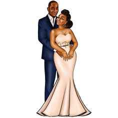 Had the pleasure of working with this sweetheart (Onajite) on a pre-wedding illustration! With on it, I definitely foresee an immensely beautiful wedding ahead. Black Couple Art, Black Love Art, Black Girl Art, Black Couples, Black Girls Rock, Black Is Beautiful, Black Girl Magic, Art Girl, Wedding Illustration