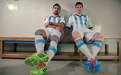 Argentina home kit: World Cup 2014
