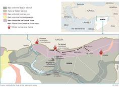 El avance kurdo ante el Estado Islámico