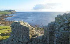 Jarlshof and Sumburgh Head, Shetland Island. By Von Michael Mittag