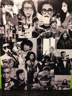 Modge podge collage of Korean actors, actresses, and singers. TOP, IU, Krystal Jung, Taecyeon, Lee Minho, Gary, Song Jihyo, Running Man, Choi Minho, Suzy, Kim Woobin, Lee Jongsuk, Jong Younghwa, Lee Jonghyun, Kim Soohyun, Park Minyoung,
