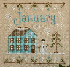 January Cottage of the Month. I want this for our home!