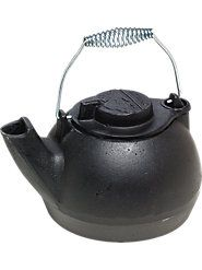 Accent the top of your stove or free-standing fireplace with this multipurpose accessory kettle. 39.00