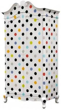 Contemporary Polka Dot Armoire Wardrobe. from Out There Interiors. www.furnish.co.uk