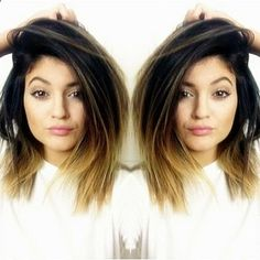 Kylie Jenner's hair is always so perfect. <3