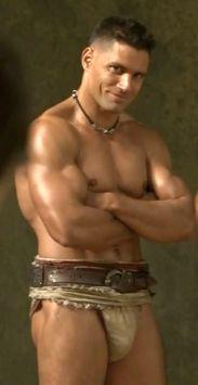 mmmmmmmmmmm ... Crixcus (Spartacus: Blood and Sand) played by Manu Bennett