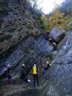 Ampeloxwri canyon, Tzoumerka