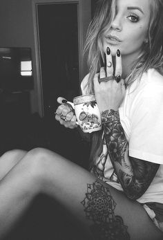 #alt #goth #scene #emo #tattoos #piercings #inked #punk #alternative