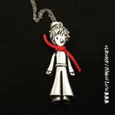 Colar Pequeno Principe  www.elo7.com.br/dixiearte
