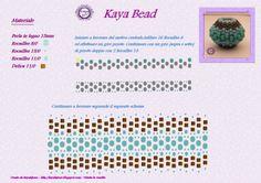 Kaya Bijoux: SCHEMA - PATTERNS KAYA BEADED BEAD