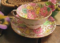 Tuscan Teacup