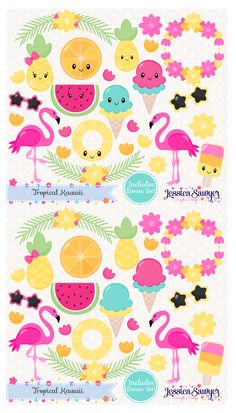 Summer Kawaii Clipar