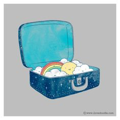 Doodle Everyday 342: Packing for a trip – ilovedoodle