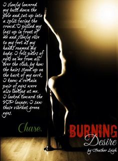 Burning Desire teaser from Danielle at Raw Books!