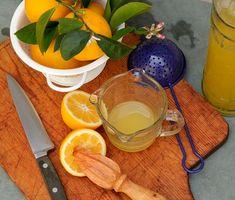 Meyer Lemon Simple Syrup