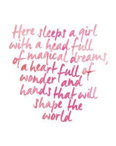 Girl power inspiration.