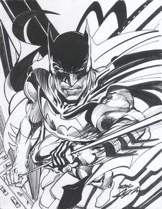 Neal Adams Batman Commission, in JASON Adams's Neal Adams Comic Art Gallery Room - 1070253