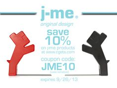 From now until September 26th, you can receive **10%*** off any j-me original design products found on our website, www.cgets.com.  Just enter the coupon code below at check out! Coupon Codde (case sensitive): JME10  j-me has some great items for back to school! So check it out!: http://www.cgets.com/j-me.html