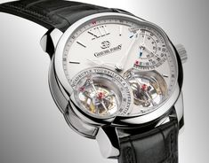 Greubel Forsey Invention Piece 2 Quadruple Tourbillon a Differentiel Amazing Watches, Cool Watches, Watches For Men, Men's Watches, Dream Watches, Luxury Watches, Patek Philippe, Devon, Cartier