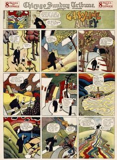 Gasoline Alley Sunday page by Frank King