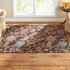 Better Homes and Gardens Floral Berber Printed Area Rug 26x310